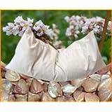 De Trigo Sarraceno ecológico con funda de cojín (algodón orgánico, natural