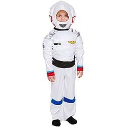 Disfraz infantil Space Astronauta MEDIANO 7-9 AÑOS