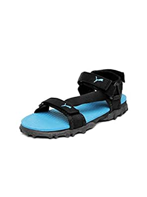 Puma Unisex Photon Jr III Ind Black Sandals and Floaters  - 11C UK