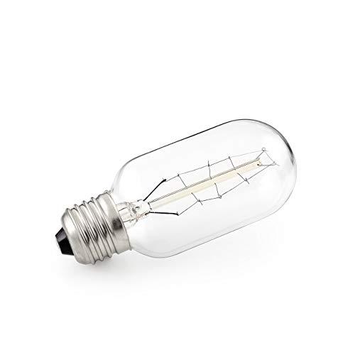 E27 Rustik Glühfaden Leuchtmittel Kolbenform Kupferdraht 2100K 40W Konstsmide 690-040 - Französische Kandelaber