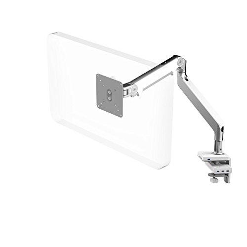 Humanscale M2Monitor Arm mit M/Connect USB 3.0dual-Video Docking Station mit integrierter Klemmhalterung aluminiumfarben -
