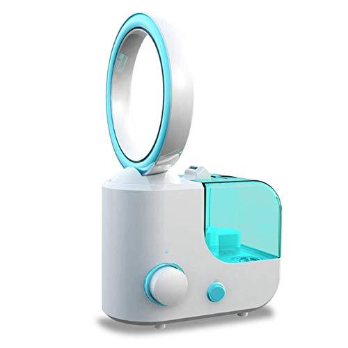 r Ventilator Luftbefeuchter für Hause Büro Student Schlafsaal Zimmer Desktop Silent Fan (blu) ()