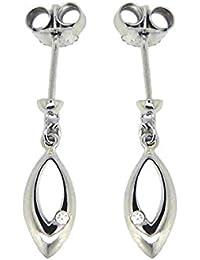 Boucles d'oreilles - Argent 925 - Oxyde de zirconium - JWER624