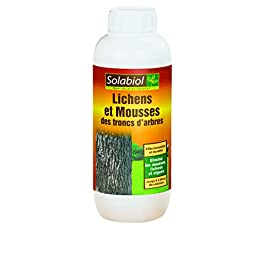 Solabiol SOTRON500 Anti Mousse des Troncs d'arbres et lichens Concentré 500 ML, Naturel