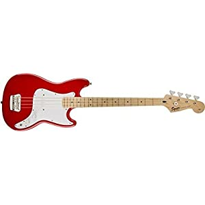 SQUIER Affinity Bronco Bass Torino Red MN