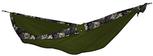 TICKET TO THE MOON Hängematte, King size - Armygrün/ camouflage