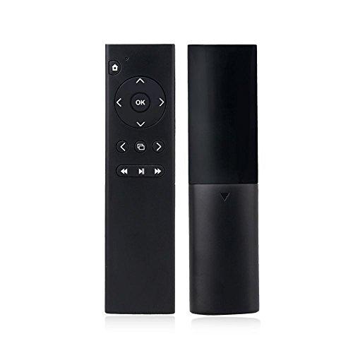 [REYTID] Schlanke schwarze Xbox One S Multimedia-Fernbedienung - Multimedia-TV Gaming DVD BluRay Streaming-Controller - XB1 Microsoft Xbox 1