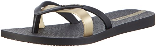 Ipanema Kirei Fem, Infradito Donna, Multicolore (Black/Gold 8417), 38 EU