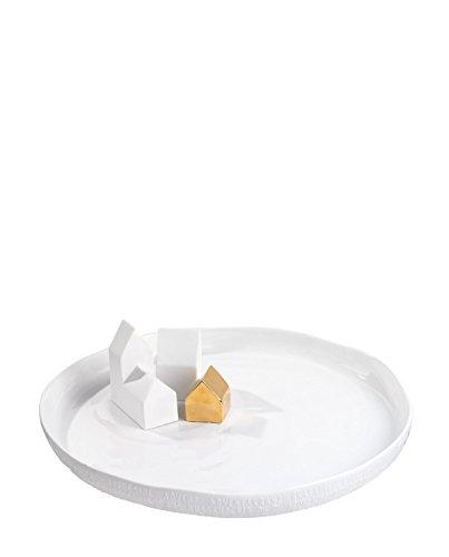 Räder Design Platte Weihnachtszauber Häuser Ø: 35 cm