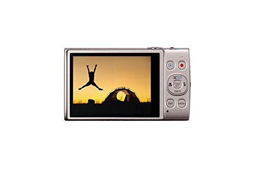 Canon Ixus 285 HS Fotocamera Compatta Digitale, 20.2 Megapixel, Argento [Versione Canon Pass Italia]