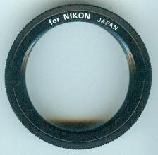 Jessop T2-Mount - T2-Anschlussring - Adaptor for / für NIKON-Kamera - mit Deckel [T2-Adapter, OVP] Digitale Slr-cam