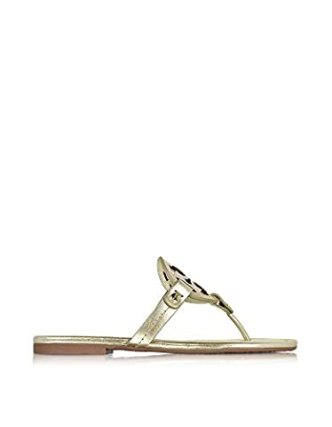 Tory Burch Women's 36540723 Gold Leather Sandals