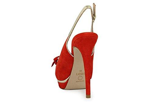 Rojo Per Donne Lodi Red Le Scarpe SwxnXOg