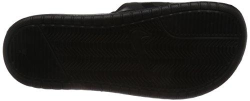 Nike Damen Benassi JDI Slide Sport-& Outdoor Sandalen, Bright Mango-White-Bright Mango, 42 EU Black/Vivid Pink
