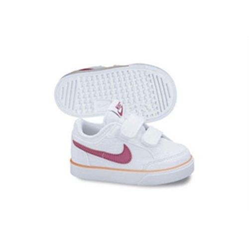 Nike Capri 3 Txt (Tdv), Chaussures de Football Bébé Garçon Blanc/rose