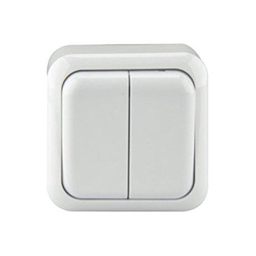 UNITEC 42011L Serienschalter Aufputz, lose Standard, weiߟ