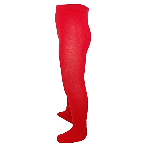 riese-strumpfe-filles-collants-monochrome-rouge-86-92rot