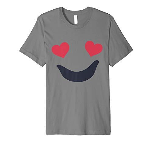 Ghost T-Shirt Funny Emoji-Halloween Gruppe Kostüm Top -