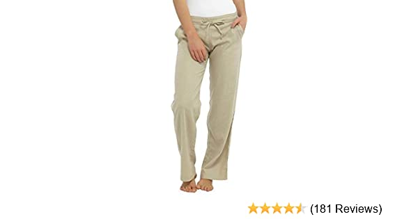INSIGNIA Ladies Womens Linen Casual Trousers with Pocket New 10-24 Size