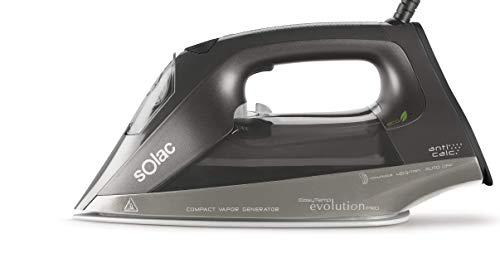 Solac S91868300 Centro de planchado compacto, Autocontrol system, 2400 W, plástico, Multicolor