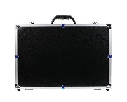 HMF 18501-02 Transportkoffer passend für X8C Syma Drohne, Koffer Alurahmen, 52 x 36 x 22 cm, schwarz - 4