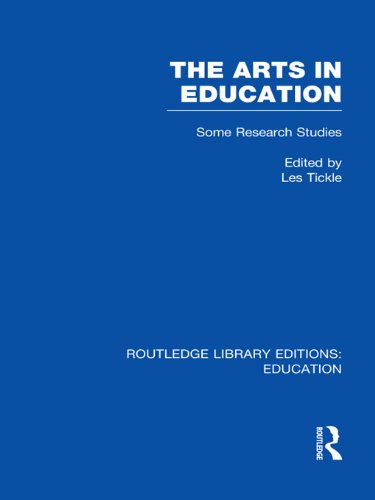 The Arts in Education: Some Research Studies (Routledge Library Editions: Education)