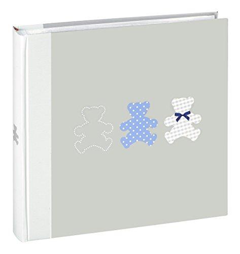 Ceanothe 271225timotee album foto bambino tradizionale con 60pagine carta grigio 30x 30cm
