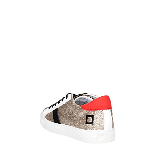 D.a.t.e. NEWMAN LOW-42 Sneakers Donna Oro
