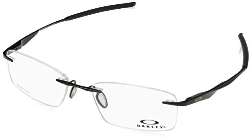 Ray-Ban Herren 0OX5118 Brillengestelle, Blau (Polished Black), 53