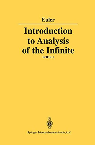 Introduction to Analysis of the Infinite: Book I: Books 1 + 2