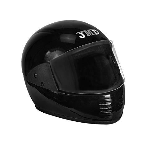 JMD Helmets Elegant Full Face Helmet (Black, L)
