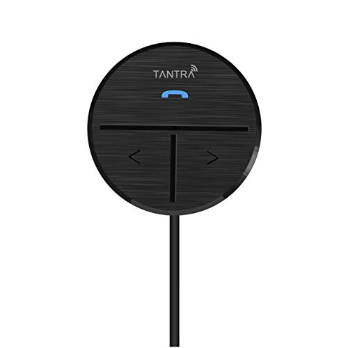 TANTRA Fluke PRO Bluetooth Receiver 4.1 Bluetooth Kit for Car (Black)