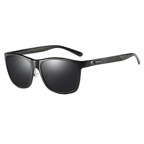 LCDY Polarisierte Sonnenbrille Für Männer Und Frauen - Komfortabler Rahmen Mit UV-Schutz Klassische Retro Sport Sonnenbrille Mit Vollem Rahmen. Mode-Reise-Fischen-Spiegel