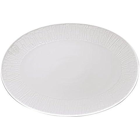 Rosenthal TAC Gropius Skin Silhouette Platte 38 cm 11280-403240-12738