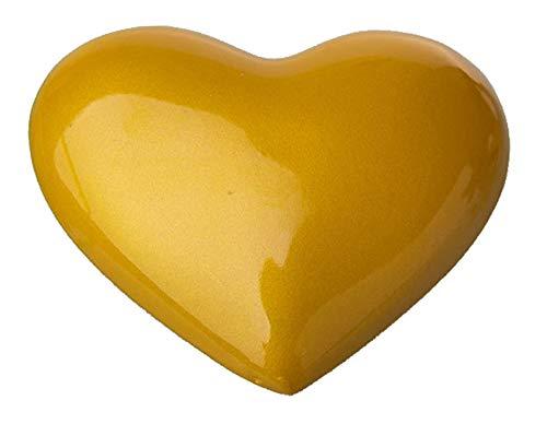 Chong Seng CHIUS Cosplay Costume Yellow Heart Shaped Brooch For Sailor Venus Aino Minako