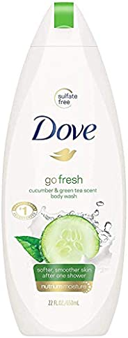 Dove Go Fresh Body Wash with Cucumber and Green Tea extract, 500ml