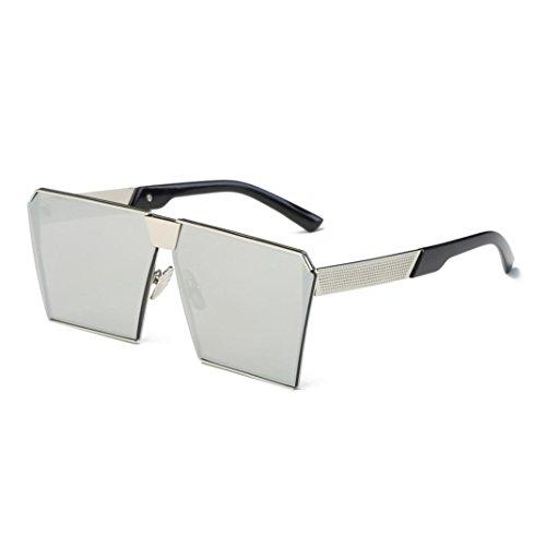 OverDose OverDose Unisex Sommer Frauen Männer Moderne Modische Spiegel Polarisierte Katzenauge Sonnenbrille Brille Damensonnenbrille Herrensonnenbrille (E)