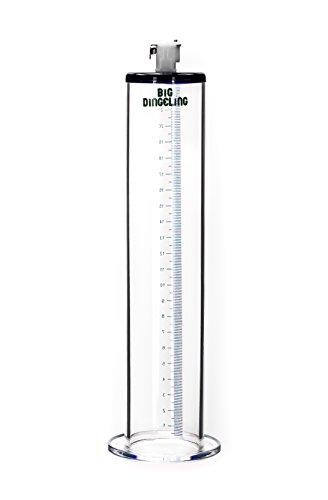 BIG DINGELING Maximizer Tube, Zylinder für Penispumpe, maximale Saugkraft, Länge 23cm, verschiedene Durchmesser (45mm)