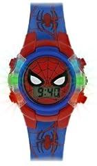 Idea Regalo - Spiderman Orologio Digitale Bambino con Cinturino in PU SPD4504