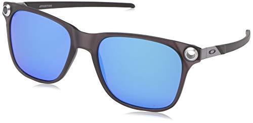 Ray-Ban Herren 0OO9451 Sonnenbrille, Mehrfarbig (Satin Black Ink), 55