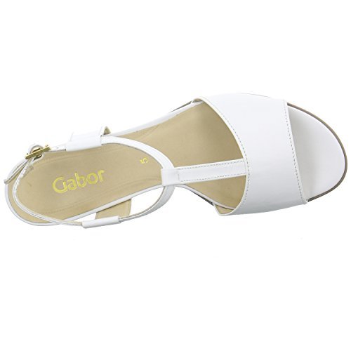 Gabor Bridgeman Sandali 45,890.21, colore: bianco Bianco