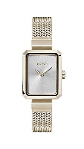 Hugo Boss Watch Reloj Analógico para Mujer de Cuarzo con Correa en Oro Rosa 1502432