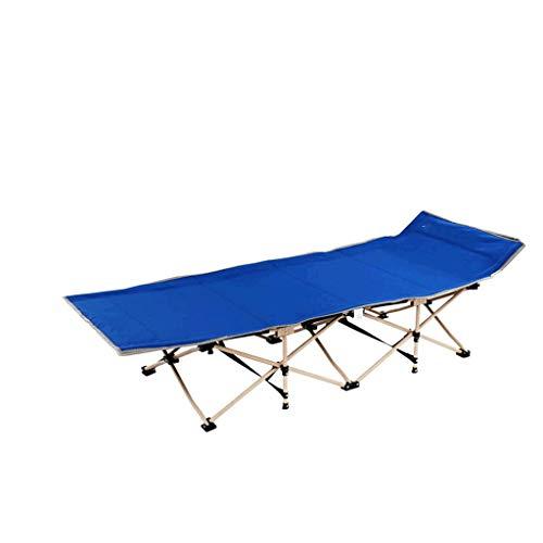 Chaises pliantes Bureau, Pause déjeuner, Chaise Longue, en Plein air, Plage, Portable, Lazy, Portable (Couleur : Bleu)