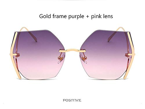CXYGHXG Unisex Erwachsene Sonnenbrille, Große Linsen, UV400-Schutz  (mehrere Farben) (Color : C)