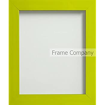 Frame Company Candy Range A4 Plastic Picture Photo Frame, Lime Green ...