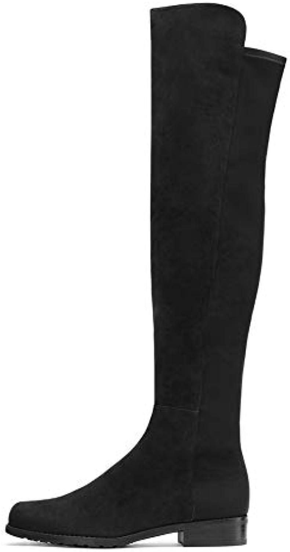 Scarpe da donna Stivali da cavaliere, stivali lunghi lunghi lunghi lunghi in pelle scamosciata autunno   inverno nuovi stivali... | Qualità Superiore  1d6107