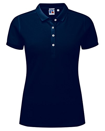 Russell Athletic - Polo - Femme Bleu Marine