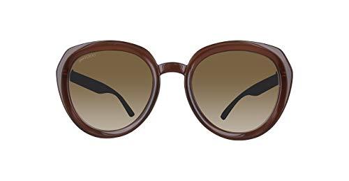 Jimmy Choo Damen MACE/S IC NS8 53 Sonnenbrille, Schwarz (Black Glitter Grey)