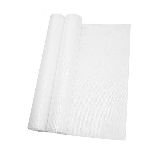 JTDEAL [2 Stück] Schubladeneinlage, Antirutschmatte Schubladenmatte, Kühlschrankmatten für Schubladen und Regale, Kühlschrank, 1.5M*30CM
