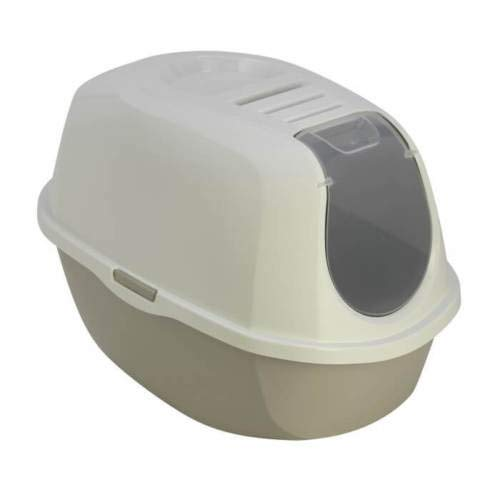 6eff26ca8a Toilet House Cat/Cat Litter Tray with Filter Freshener AS97417FI Taupe- e